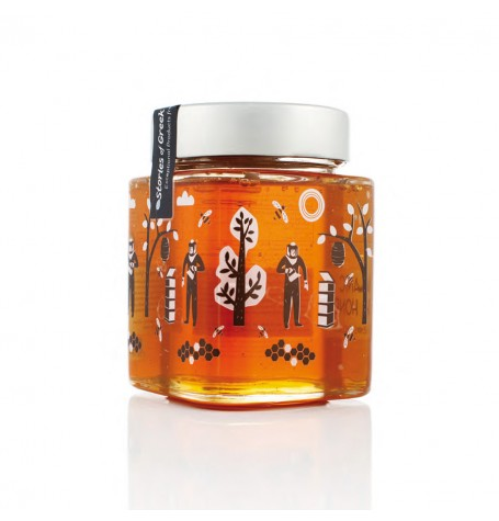 ORGANIC THYME HONEY FROM KYTHNOS ISLAND - CYCLADES